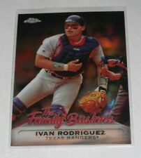 2019 Topps Chrome Update Ivan Rodriguez Family Business Card #FBC-5 Rangers