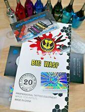 BIG WASP tattoo Needle Cartridge 3,5,7,9,11,14 LINERS / RL / SHIP'S FAST FROM AZ