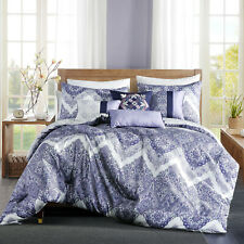 7 Piece Luxury Printed Soft Microfiber Comforter Set Bed In A Bag,Queen, Olesia