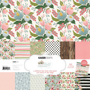 KaiserCraft Full Bloom Collection 12x12 Pack Floral Celebrations Weddings