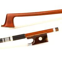 Pro Master D.PECCATTE Copy Pernambuco Violin Bow 44 T-S Bigeye Silver Stiff Fast