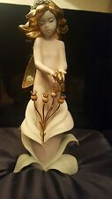 Lladro Life Fairy Gold 24 and 18 k # 7906 Make offer  ( FREE shipping USA ONLY)