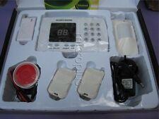 Wireless Auto-dial Phone Burglar Home House Alarm - 1 PIR + 1 door Sensor 433MHz