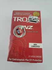 Trojan Enz Non Lubricated Condoms 1 Pack 12 Condoms 09/20