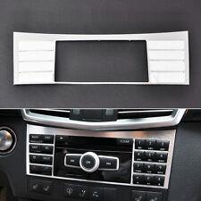 For 2010-2015 Benz W212 E Class-Aluminium Center Console switch Panel frame Trim