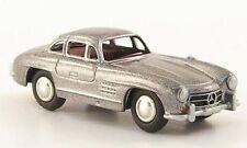 BUB Mercedes-Benz 300 SL 300SL silber silver metallic Metall, 1:87 H Lim. 1000