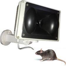 Repellente dissuasore a ultrasuoni per topi ratti roditori - versione da esterno