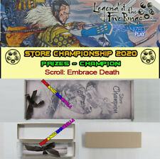 L5R LEGEND OF THE FIVE RINGS - 2020 STORE CHAMPIONSHIP - Scroll TOP 1 Champion