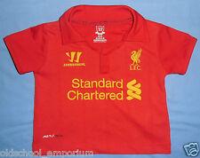 LIVERPOOL FC / 2012-2013 Home - WARRIOR - KIDS Shirt / Jersey. 6/12 m, 74 cm