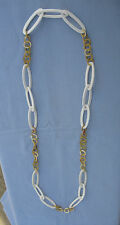 Halskette aus Knochen & Büffelhorn, Handarbeit, 6697