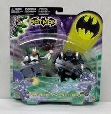 Mattel Batman 2 Figure Set Arctic Shield Batman Ice Cannon Mr Freeze 2004 S167-6