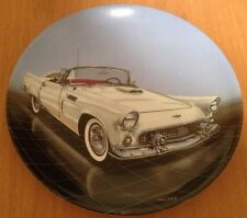 """56 T-BIRD PLATE ONE OF """"DREAM MACHINES """" BY PHILIP PALMA, 1988 Delphi, NEW"""