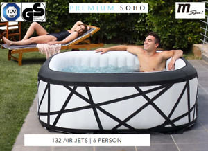 MSPA Whirlpool aufblasbar PREMIUM SOHO XXL 6 Personen Modell 2021 Outdoor Pool
