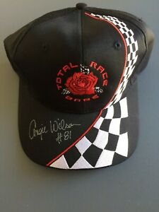 *RARE* Nissun TOTAL RACE BABE Ball hat cap SIGNED ANGIE WILSON #81 NASCAR - *NEW