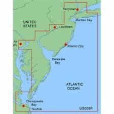 Garmin MUS005R Bluechart Marine Chartplotter GPS Chart Map New York - New Jersey