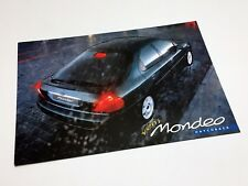 1997 Ford Mondeo Hatchback Information Sheet Brochure - Turkish