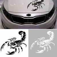 Neu Mode 3D Scorpion Skorpion Sticker Aufkleber Autoaufkleber Tattoo Auto X1I0