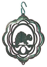 Swen Products Turtle Tini Swirly Metal Wind Spinner