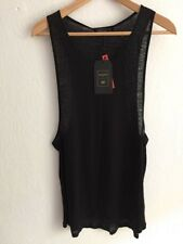 Balmain H&M Designer Top shirt Tanktop Gr M Longfit wie Gr L