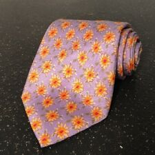 """ROBERT TALBOTT BEST OF CLASS HAND SEWN IMPORTED SILK TIE MADE IN USA FLORAL 58"""""""