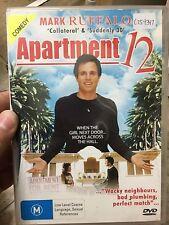 Apartment 12 ex-rental region 4 DVD (2001 Mark Ruffalo comedy movie)