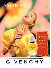 PUBLICITE ADVERTISING 064  1993  GIVENCHY    les célèbres senteurs