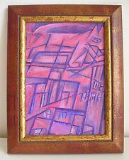 Gatto su tetto schizzo cubismo 1913? Avanguardia russa Russian avantgarde