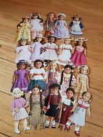 AMERICAN GIRL CRAFTS ~Pack of 20 Doll Stickers! Kit Julie Molly Felicity Kirsten