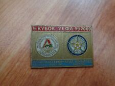 Classic Lokomotiv Moscou V Leeds United UEFA CUP 1999/00 2ND Rnd Club badge