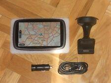 GPS TOM TOM GO 600 EUROPA CON MAPAS ACTUALIZABLES DE POR VIDA. PERFECTO ESTADO.