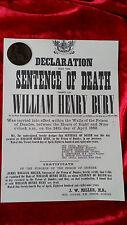 Tabla Ouija 1888 centavo Victoriano Espiritismo gatillo embrujada Magic Jack el Destripador