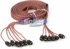 Stinger SI4617 17 ft. of 6-Channel 4000 Series RCA Interconnect Audio Cable