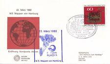 Von Hamburg zum Nordkap Tag der Briefmarke 1979 22.03.1980 - H4d