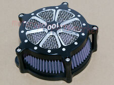 Contrast Cut Turbine Air Cleaner Filter For Harley Sportster XL 883 1200 Types