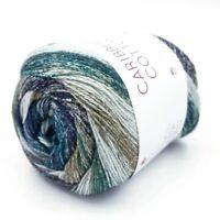 CARIBBEAN COTTON 100% Baumwolle FARBVERLAUF 13 VEGAN Gradient yarn Strickgarn