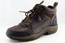 Ariat Size 9.5 M Round Toe Brown hiking Leather Boots