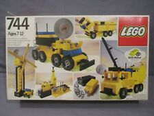 Lego 744 UNIVERSAL BUILDING SET BOX ONLY Vintage 1979
