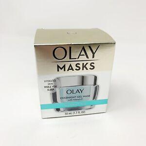 Olay Overnight Gel Mask with Vitamin E Hydrating 1.7 oz