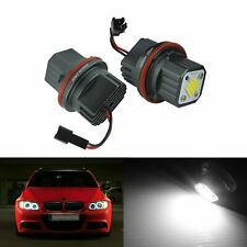 BMW LED Angel Eyes 160W LED Blanc Phare E39 E60 E63 E64 E65 E66 E53 E83 E87