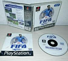 PS1 PLAY STATION 1 Fifa 2001 OTTIMO COME NUOVO ITALIA GIOCO CALCIO CON LIBRETTO