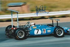 Jackie Stewart Hand Signed Matra International F1 12x8 Photo 1.
