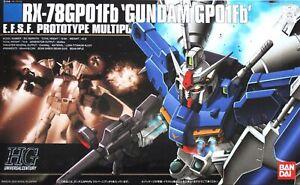 Gundam 1/144 Scale RX-78GPO1FB GPO1FB Kit Hg Hguc 018 bandai