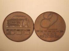 1982 Porsche Christophorus Calendar Coin Münze RARE!! Awesome L@@K