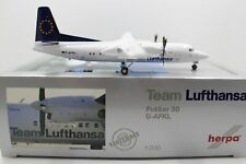 Herpa Wings 1:200 Lufthansa Fokker 50 Team D-AFKL (553773) Limited Edition