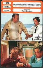 LA COURSE DU LIEVRE A TRAVERS LES CHAMPS - (Fiche Cinéma) 1972 - And Hope To Die