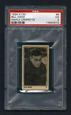 PSA 3 LLOYD COOK 1924 Maple Crispette Hockey Card #6