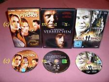 3 DVD's _ Das perfekte Verbrechen (Anthony Hopkins) & Highway Psychos & Killshot