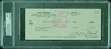 Molly Ringwald Signed Check (1990) (Graded PSA/DNA 9)
