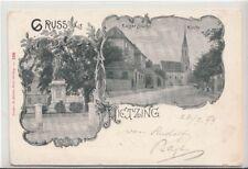 74132/10- Gruß aus Hietzing 13. Wiener Bezirk 1899