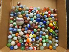 Vintage glass and clay marbles lot of 150 Germany free shipping